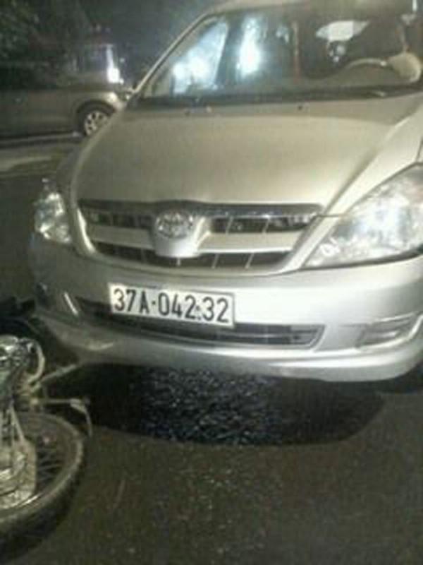 Hiện trường xảy ra vụ tai nạn (ảnh VTC News).