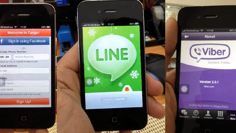 """""""Việc tăng giá 3G không tác động đến hoạt động kinh doanh của OTT, ngược lại, khách hàng càng dùng nhiều hơn vì Wifi vẫn dùng được"""" - lãnh đạo của LINE Messenger cho biết."""