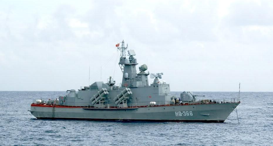 Tàu chiến lớp Molniya được trang bị 16 tên lửa đối hạm Kh-35E