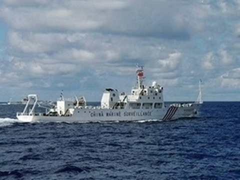 """Hải giám Trung Quốc chính thức đồn trú tại """"thành phố Tam Sa"""""""
