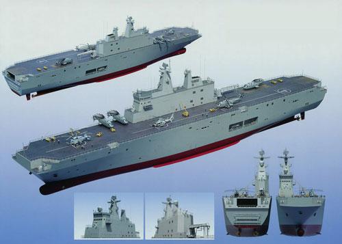 Mô hình tàu LHD 081