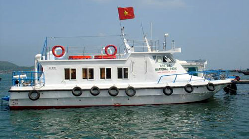 Chìm tàu du lịch trên khu vực sông Soài Rạp (Ảnh minh họa)