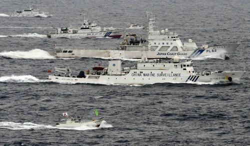 Một tàu tuần tra biển của Trung Quốc.