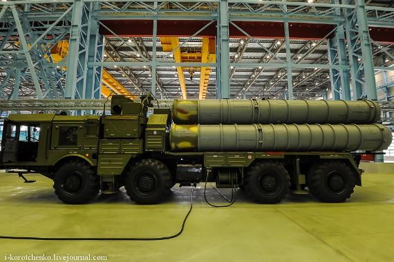 Hệ thống tên lửa S-400.