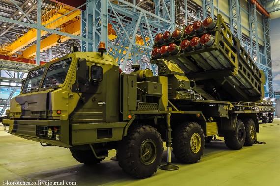 Vityaz là hệ thống phòng không di động đa năng do Tập đoàn Almaz-Antei thiết kế. Tên lửa được dùng để thay thế hệ thống tên lửa S-300.