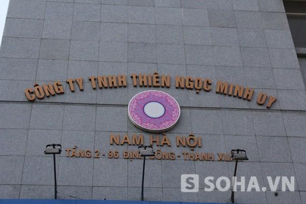 Trụ sở công ty TNMU nam Hà Nội