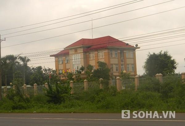 Trạm CSGT Suối Tre - tỉnh Đồng Nai, nơi xảy ra vụ nổ súng kinh hoàng giữa các CSGT với nhau.