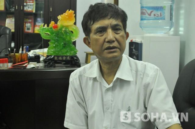 BS Trần Văn Nam - GĐ Trung tâm cấp cứu 115 Hà Nội (Ảnh: Tuấn Nam)