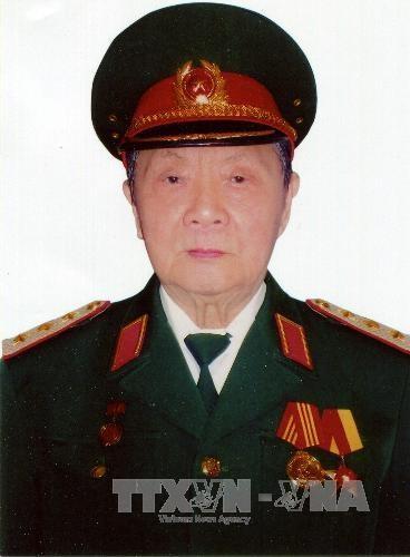 Thượng tướng Trần Văn Quang (Ảnh: TTXVN)