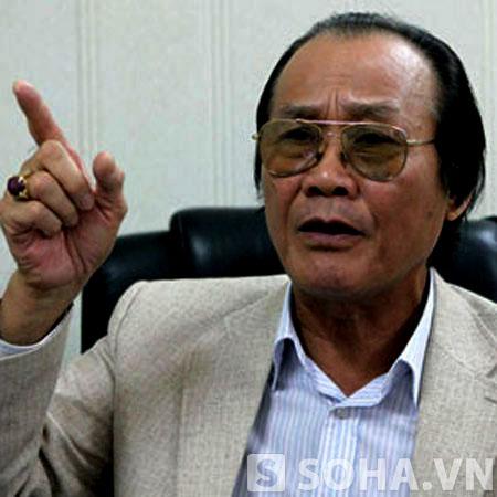 Tiến sĩ luật Trần Công Trục, nguyên Trưởng ban Biên giới Chính phủ.