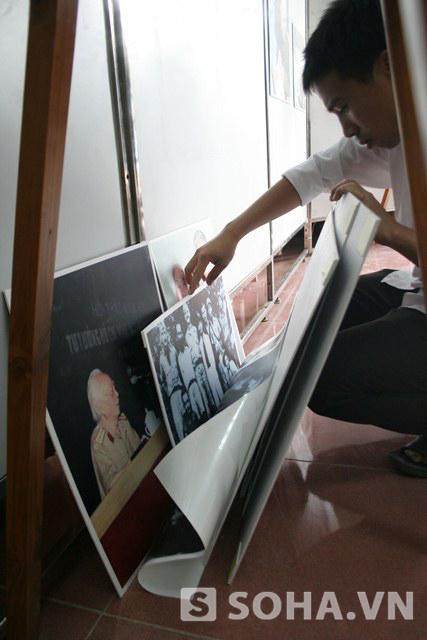 Tìm kiếm, chọn lọc và sưu tầm những bức ảnh Đại tướng trong có 2 ngày không phải là công việc dễ dàng.