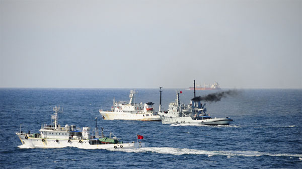 Tàu hải giám Trung Quốc tại biển Hoa Đông.