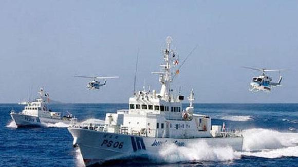 Một tàu tuần tra Trung Quốc.