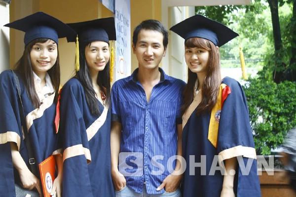 Chàng giám đốc trẻ Trương Văn Đoàn đang là sinh viên năm thứ 4 ĐH Kinh tế Quốc dân.