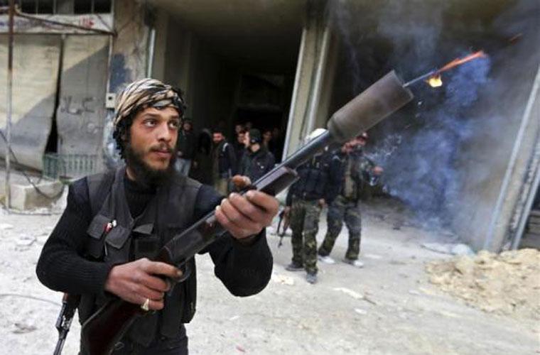 """Ngắm vũ khí """"độc nhất thế giới"""" của quân nổi dậy Syria"""