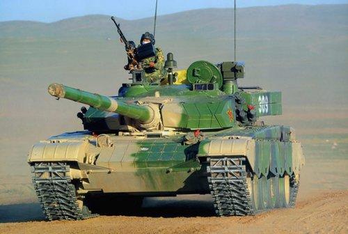 Xe tăng hạng nặng hiện đại nhất của Trung Quốc Туре-99