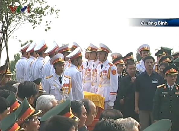 Tường thuật trực tiếp Lễ an táng Đại tướng tại Vũng Chùa