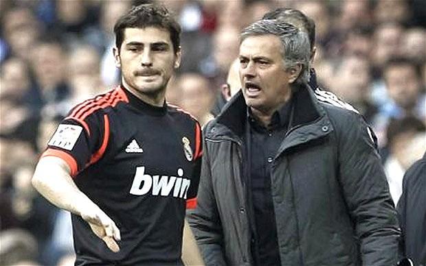 Mourinho và Casillas có rất nhiều mâu thuẫn