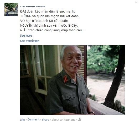 Du học sinh Việt tại Nga nghẹn ngào tiễn biệt tướng Giáp