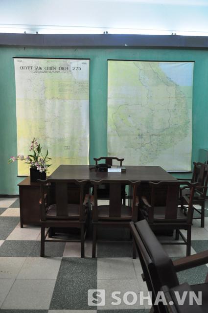 (Gửi chị Tiên) Phòng làm việc của Đại tướng tại nhà D67