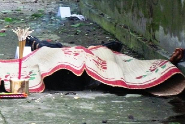 Hiện trường vụ nổ mìn ở Phú Lương
