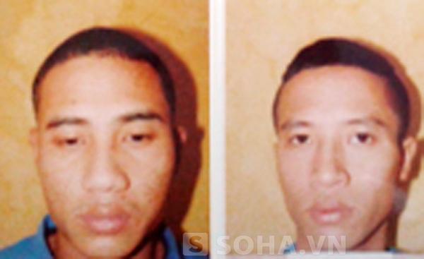 Đỗ Giáp và Nguyễn Hồng Thịnh tại cơ quan Công an