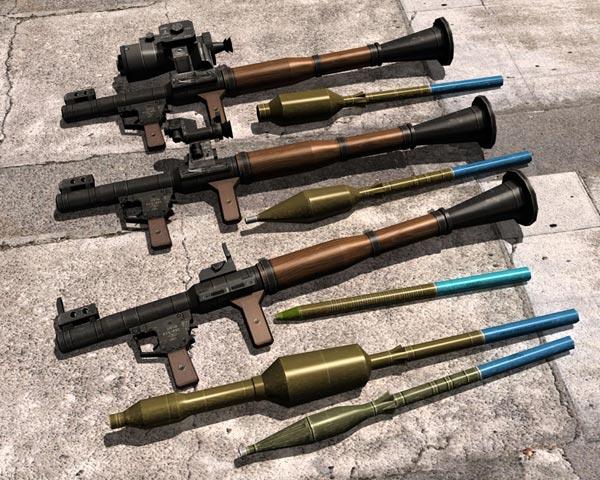Các loại đầu đạn dành cho súng chống tăng RPG-7