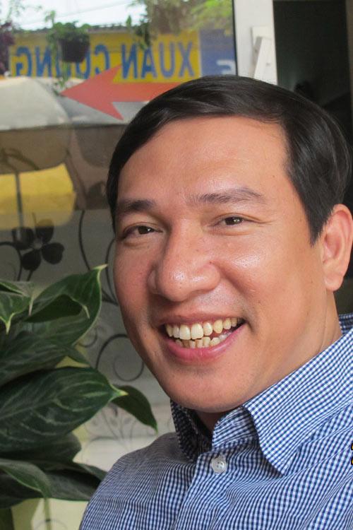 Diễn viên hài Quang Thắng.
