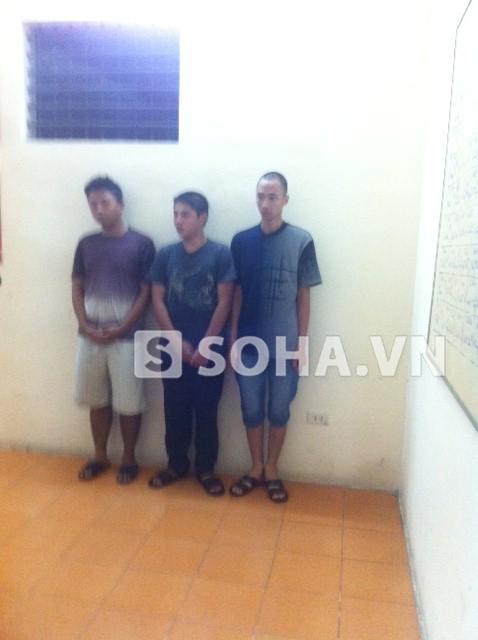 Ba đối tượng chuyên cướp xe đạp điện tại cơ quan công an
