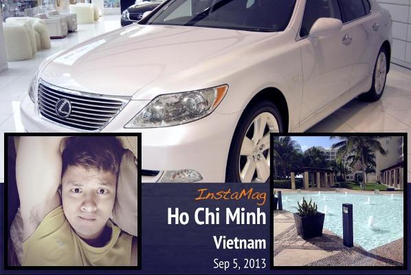 Hình ảnh chiếc xe được Cao Thái Sơn chia sẻ trên facebook