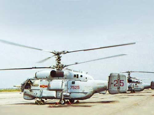 Trực thăng săn ngầm Ka-28 của Không quân Hải quân Việt Nam