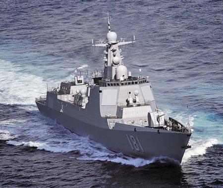 Tàu khu trục Type 052D Trung Quốc