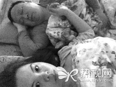 Hình ảnh được cho là của Lu Zhi Yuan và Li Shan Shan.