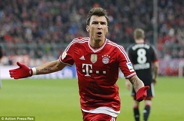 Mario Mandzukic sẽ rời Bayern để được trọng dụng hơn