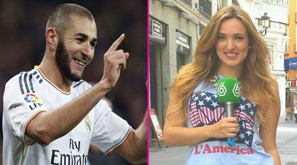 Benzema ngoại tình với nữ MC xinh đẹp Marta Riesco