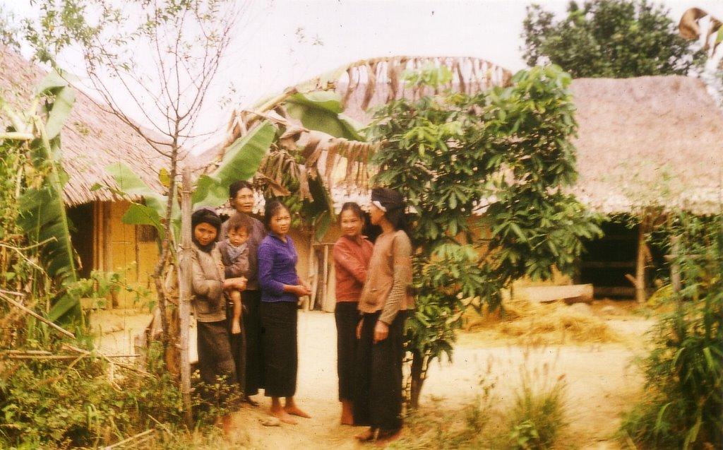 Vietnamesisches Dorf in der Provinz Thai Nguyen;       Vietnamese village in the province of Thai Nguyen;