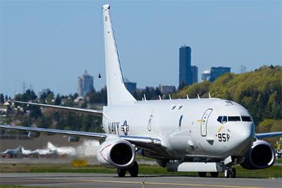 Máy bay P-8A trang bị radar mới AAS.