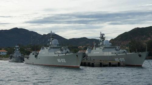 Hải quân Việt Nam sẽ tiếp nhận thêm 2 chiến hạm Gepard 3.9 mới vào năm 2017.