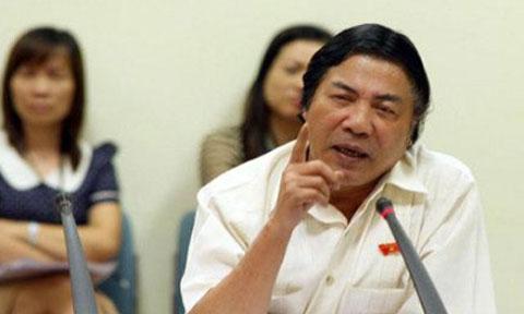 Ông Nguyễn Bá Thanh đến tham dự vụ xét xử Dương Tự Trọng