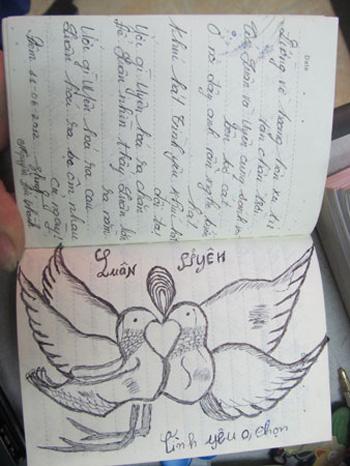 Nhật ký tình yêu thơ mộng của cặp tình nhân giết người dã man - Ảnh 1