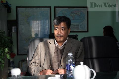 Ông Nguyễn Quốc Hòa, chủ nhân của tàu ngầm Trường Sa