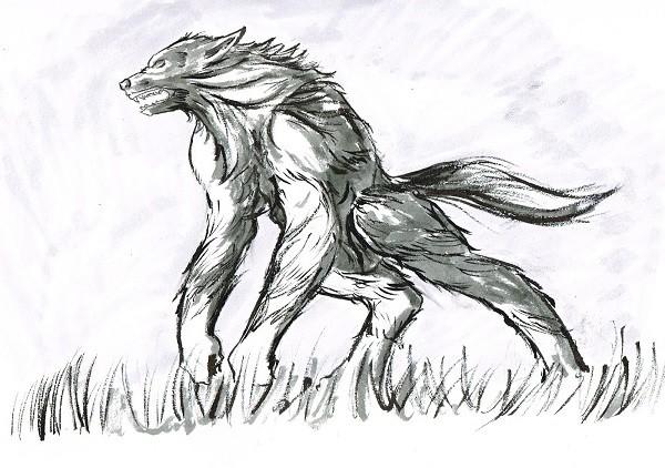 """Sinh vật """"nửa người nửa sói"""" gây kinh hãi thập niên 90 8"""