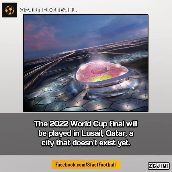 Trận chung kết World Cup 2022 sẽ tổ chức ở thành phố còn chưa... tồn tại