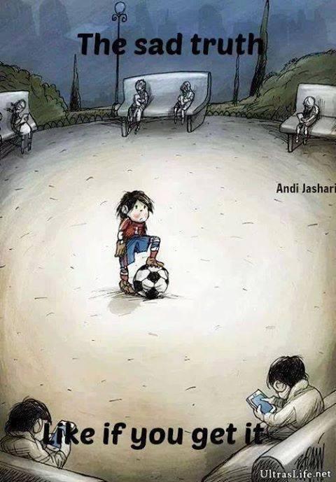 Giờ con trẻ không còn thích chơi bóng nữa rồi