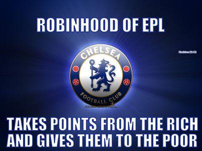 Chelsea đang là anh hùng