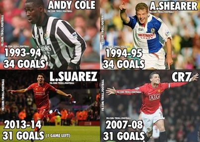 Suarez dù sao cũng đã lập kỷ lục