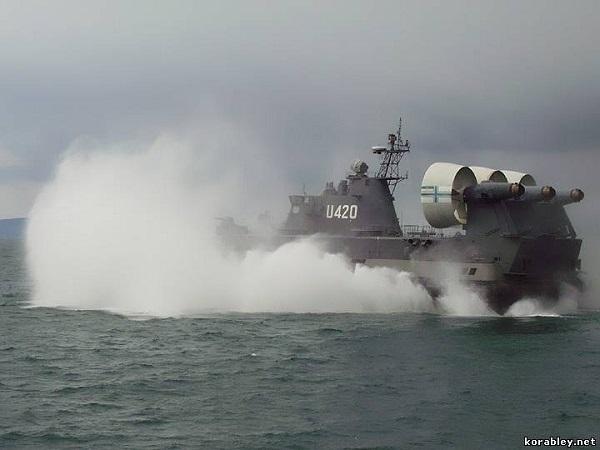 Tàu đổ bộ đệm khí Zubr - một sản phẩm nổi tiếng của ngành công nghiệp quốc phòng Crimea