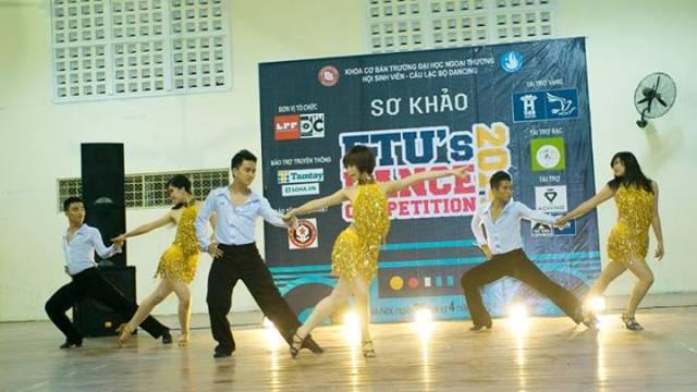 Đội thi Dancesport duy nhất của cuộc thi Timber đã xuất sắc thể hiện phần thi của mình với kĩ thuật chuyên nghiệp.