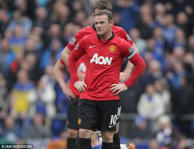 Rooney và các đồng đội chơi mờ nhạt