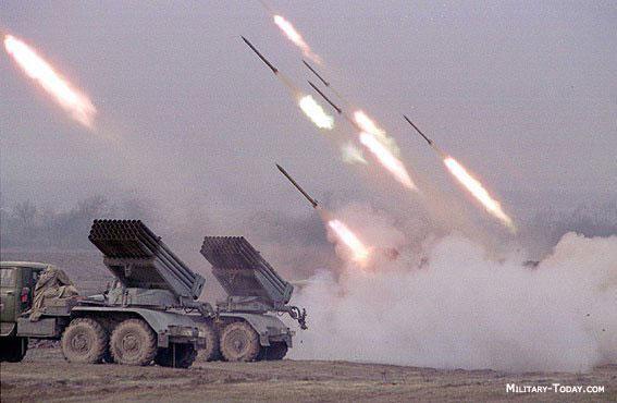 """Cơn mưa"" rocket từ BM-21"